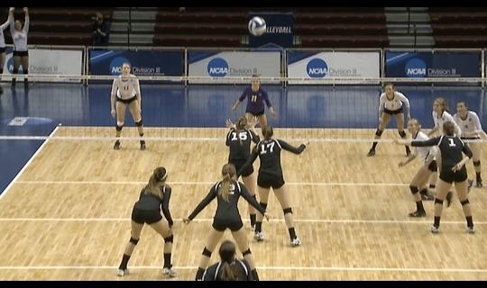 2015 DIII Women's Volleyball Championship: Quarterfinal Recap