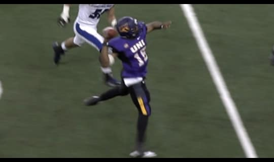 FCS Playoffs: UNI over Eastern Illinois