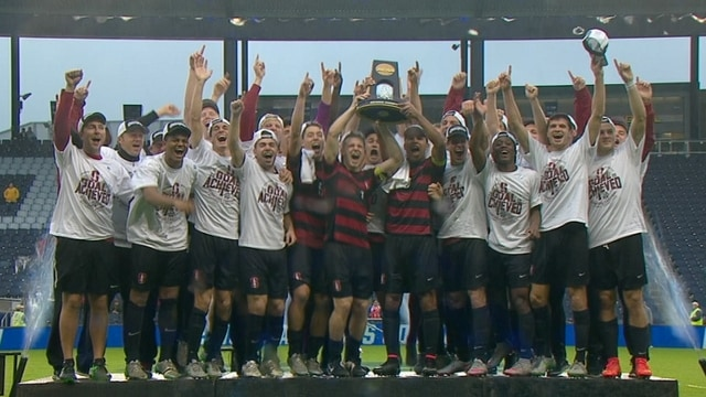 Stanford wins the 2015 DI Men's Soccer Championship