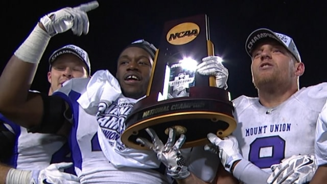 DIII Football: Mount Union wins the Stagg Bowl