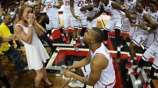 Men's Basketball: Gotcher pops the question