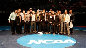 Wartburg wins the 2016 DIII Wrestling Championship
