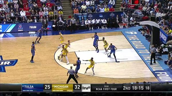 TULSA vs. UM: R. Smith and-one
