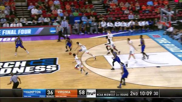 HAMP vs. UVA: M. Tobey at both ends