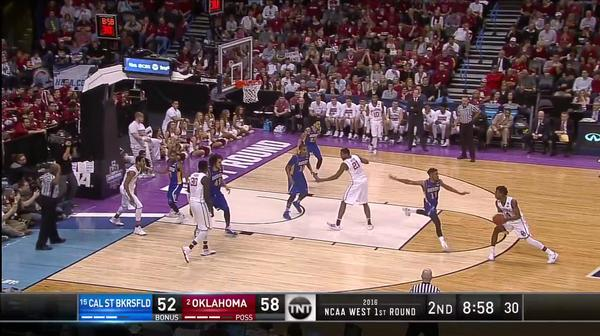 CSB vs. OKLA: B. Hield and-one