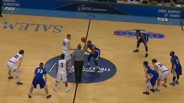 2016 DIII Men's Basketball Semifinal: Christopher Newport vs. St. Thomas (MN) Full Replay