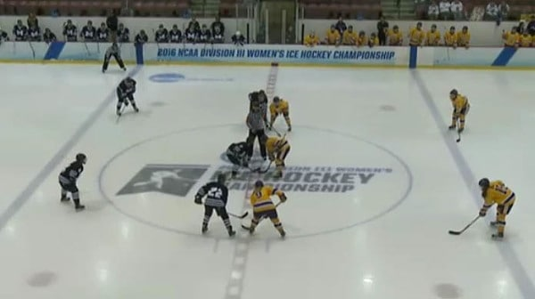 2016 DIII Women's Ice Hockey Third Place Game: Middlebury vs. Elmira