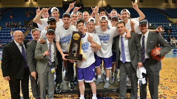 St. Thomas wins the 2016 DIII Basketball Championship