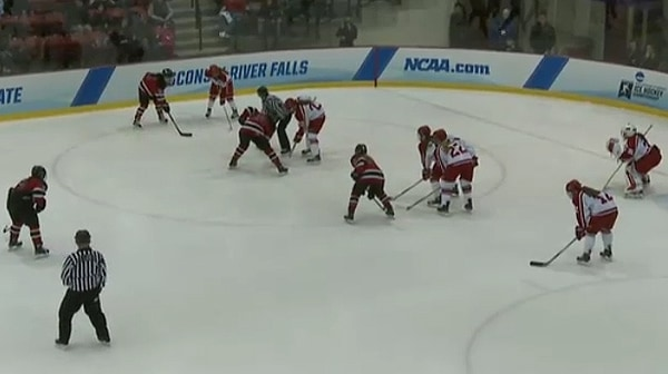 2016 DIII Women's Ice Hockey Championship: Wisconsin-River Falls vs. Elmira Full Replay