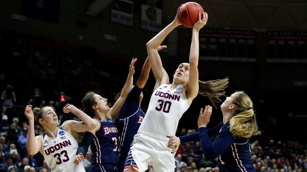 Women's Basketball: UConn advances to the Sweet 16