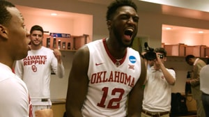 Behind the Scenes: Sooners celebrate Elite 8