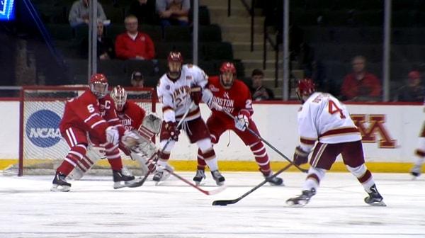 DI Men's Hockey: Denver handles Boston