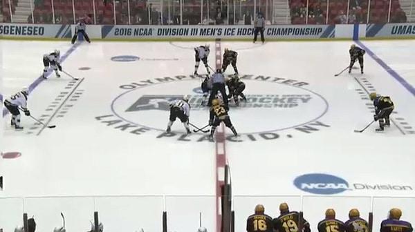 2016 DIII Men's Ice Hockey Championship: Wisconsin-Stevens Point vs. St. Norbert Full Replay