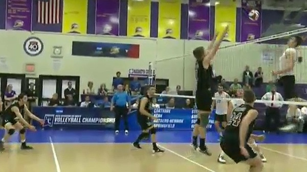 2016 DIII Volleyball Quarterfinal Full Replay: Stevens Institute vs. Rutgers-Newark