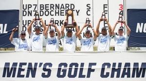 Saint Leo wins the 2016 DII Men's Golf Championship