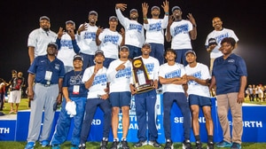 St. Augustine's wins the 2016 DII Men's Outdoor Track & Field Championship