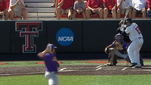 DI Baseball Super Regional: East Carolina vs. Texas Tech Game 3