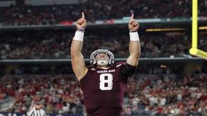 College Football: Texas A&M beats Arkansas | Social Game