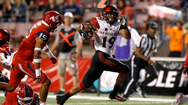 College Football: Hand Him The... San Diego State's Donnel Pumphrey