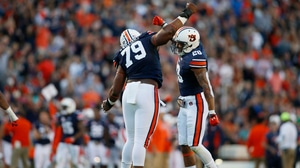 College Football: Auburn dominates Arkansas 56-3