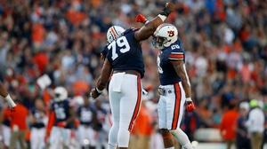 College Football: Auburn dominates Arkansas 56-3