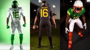 Oregon Football: Best Uniforms of 2016