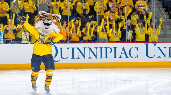College Hockey: Top Ice Hockey Mascot | High Five