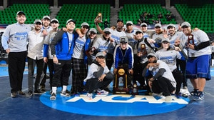 Notre Dame College wins the 2017 DII Wrestling Championship