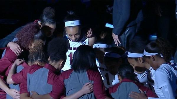 Women's Basketball: South Carolina dominates UNC Asheville