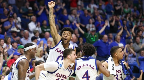 First Round: Kansas rolls past UC Davis