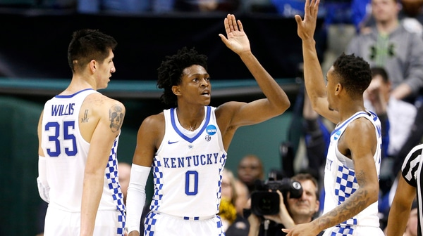 First Round: Kentucky punches ticket