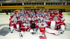 Plattsburgh State wins the 2017 DIII Women's Ice Hockey Championship
