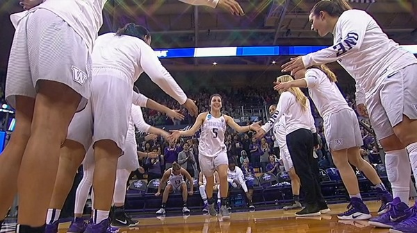 Women's Basketball: Washington dominates Montana State