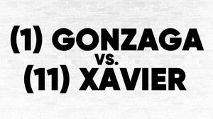 (1) Gonzaga vs. (11) Xavier