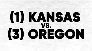 (1) Kansas vs. (3) Oregon