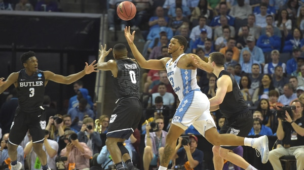 Sweet 16: UNC eases past Butler