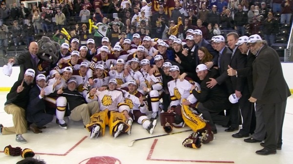 DI Men's Hockey: Minnesota Duluth skates to the Frozen Four