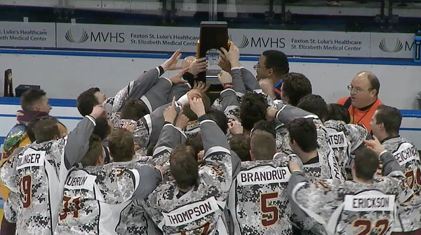 Norwich wins the 2017 DIII Men's Ice Hockey Championship