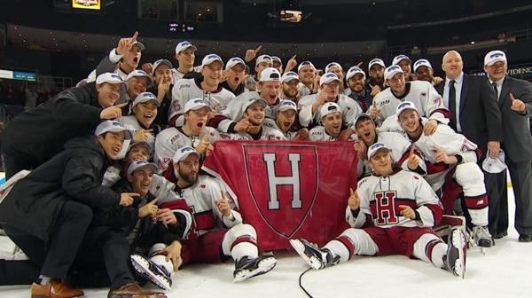 DI Men's Hockey: Harvard advances to Frozen Four