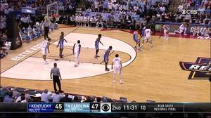 3-pointer by Luke Maye