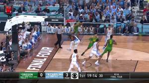 Oregon vs. North Carolina: 1st Half Highlights