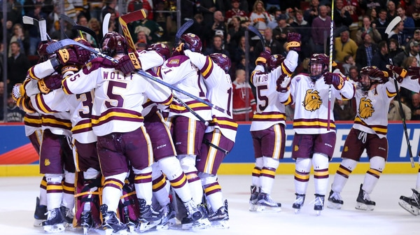 DI Men's Hockey: Minnesota Duluth advances to the Championship