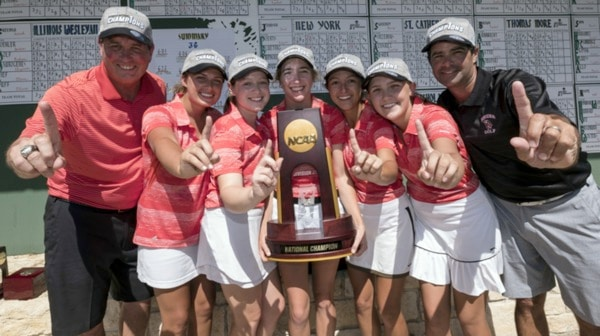 Rhodes College wins the 2017 DIII Women's Golf Championship
