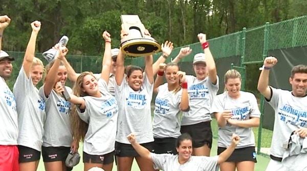 2017 DII Women's Tennis Tournament: Championship Recap