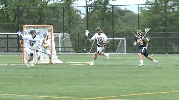 2017 DII Men's Lacrosse Semifinal Full Replay: Merrimack vs. Adelphi