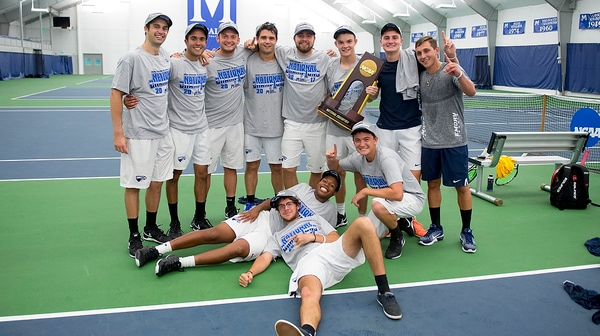 Emory wins the 2017 DIII Men's Tennis Championship