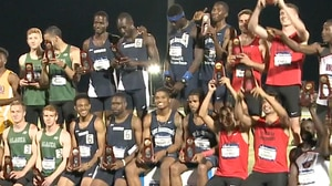 St. Augustine's wins the 2017 DII Men's Outdoor Track & Field Championship