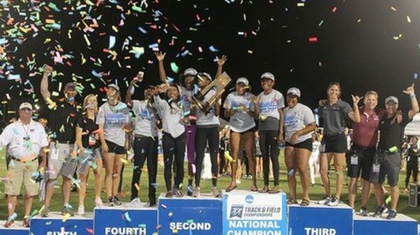 West Texas A&M wins the 2017 DII Women's Outdoor Track & Field Championship