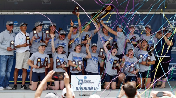 2017 DI & DII Rowing Championship Full Replay: Day Three