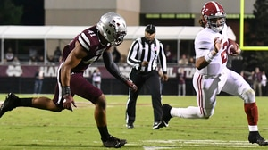 College Football: Alabama escapes with win over Mississippi State